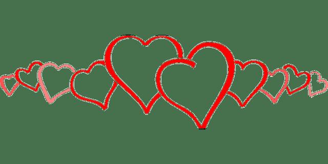 Sydämet rivissä